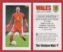 Wales Rhys Weston Cardiff City